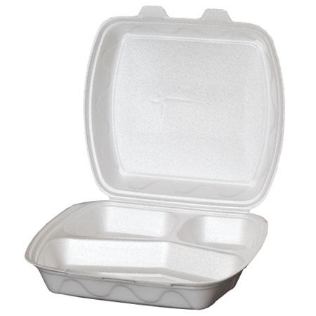 Posude za dostavu hrane od stiropora sa poklopcem