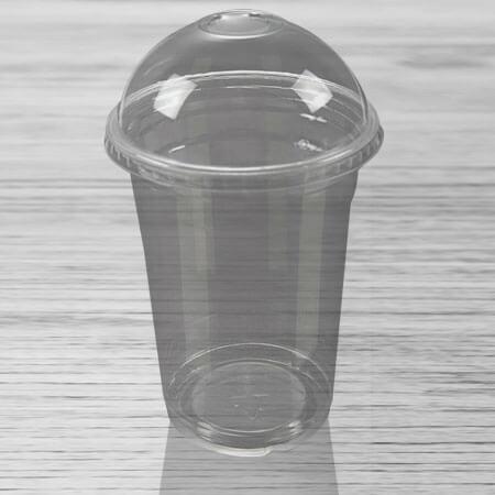 PVC čaše sa poklopcem sa i bez rupe ART 400