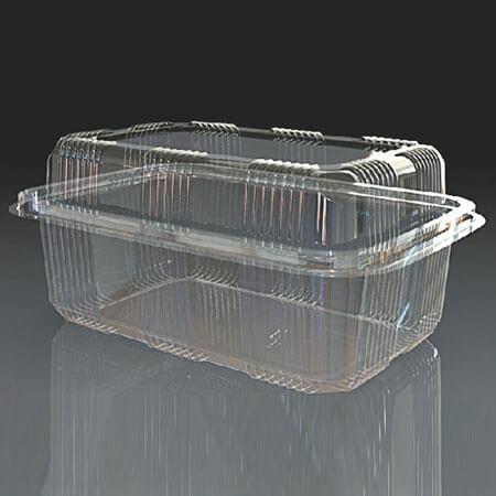 PET pakovanja za dostavu hrane PET 1000 BIG izdignuta