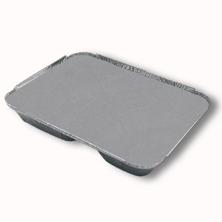 posuda od aluminijuma sa 2 odeljka poklopac